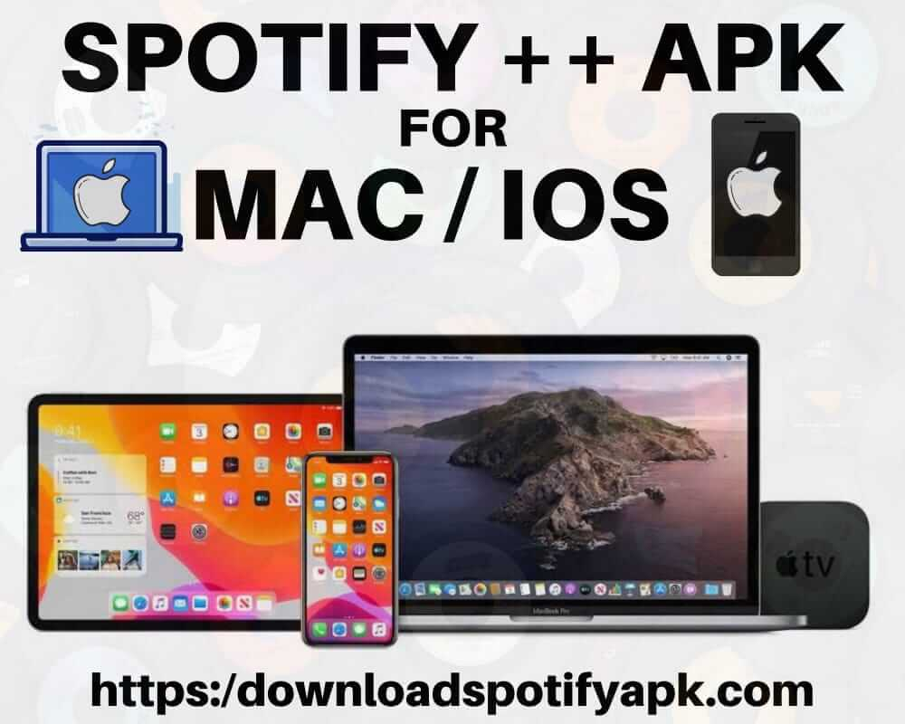 Spotify++ APK Download for iOS
